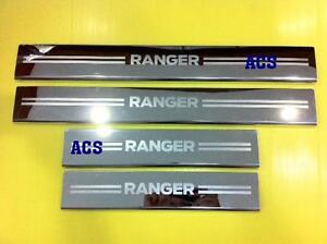 FORD RANGER 2012 2013 2014 2015 SCUFF PLATES DOUBLE CAB 4 DOORS BEST PRICE!!!
