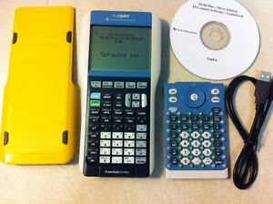 Texas-Instruments-TI-84-Plus-Graphing-Calculator-Nspire-Yellow-Cover