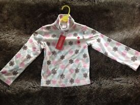 Genuine Brand New With Tags GYMBOREE Girl's Long Sleeved Top - Age 4-5 years, Height 42-45 inches