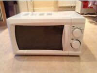 Microwave, toaster & veg steamer for sale as set, good condition