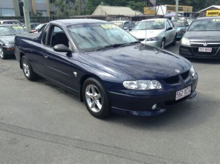 2001 Holden Ute VU, ONLY 164,000 KLMS, ALLOY WHEELS, GREAT COLOUR, FINANCE AVAILABLE Blue Automatic