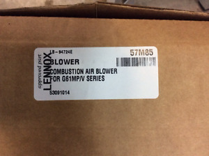 NEW Lennox 57M85 Combustion Air Blower
