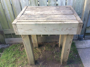 """Garden Work Table / Stand 27""""L, 21""""W, 30""""H, AVAILABLE"""