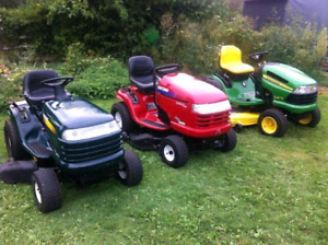 CASH PAID FOR YOUR UNWANTED JOHN DEERE/CRAFTSMAN LAWN TRACTOR