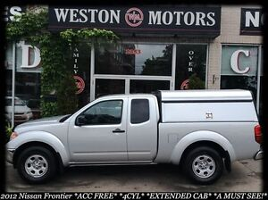 2012 Nissan Frontier S* ACC FREE* EXTENDED CAB* 4CYL*