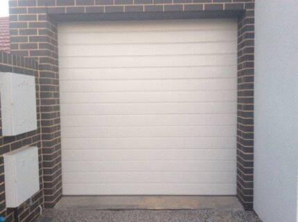 Garage Door with Electric Motor (2)