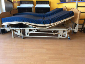 INVACARE LR77618 6 FUNCTIONS HOSPITAL BED WITH TRAPEZE BAR