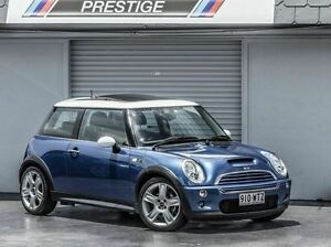 2006 Mini Cooper R53 Upgrade II S Blue 6 Speed CVT Auto Sequential Hatchback Albion Brisbane North East Preview