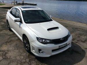 2010 Subaru Impreza MY11 WRX Premium (AWD) White 5 Speed Manual Sedan Glenthorne Greater Taree Area Preview