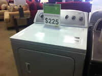 WHIRLPOOL DRYER $225.00 = TAXES