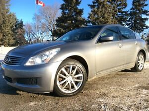 2009 Infiniti G37x, AUTO, AWD, LEATHER, ROOF, $10,500