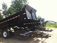 7x12 Sure Trac Dump 6 Ton Trailer