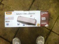New 'boxed' A4 Saturn 3i laminator