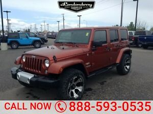 2014 Jeep Wrangler Unlimited 4WD UNLIMTED SAHARA Navigation (GPS