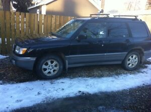 REDUCED    1998 Subaru Forester s SUV, Crossover