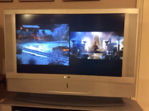 """Sony 42"""" Grand Wega LCD TV with Picture-in-Picture"""