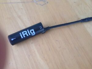 iRig guitar unit for iPad / iPhone / iPod  - Awesome Read -