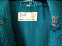 Chinese style dressing gown