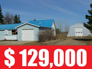 Quonset for sale in village of Zenon Park.