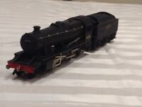 Hornby 00 train and tender plus 3 transformers