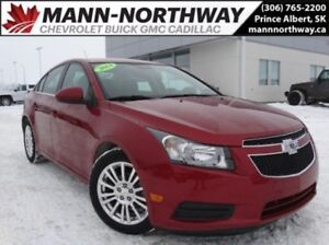 2014 Chevrolet Cruze Eco | MyLink, Cruise, Bluetooth.
