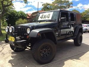 2010 Jeep Wrangler Unlimited JK MY09 Sport (4x4) 6 Speed Manual Softtop Homebush Strathfield Area Preview