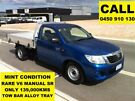 2012 Toyota Hilux GGN15R MY12 SR Tidal Blue 5 Speed Manual Cab Chassis