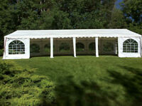 Outdoor Tents, Tables, Chairs, Dance Floor - Full Package