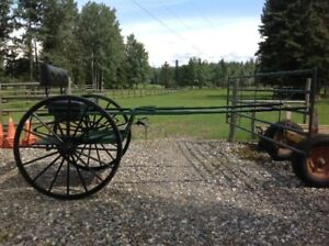 MEADOWBROOK STYLE HORSE DRIVING CART
