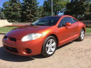 2007 Mitsubishi Eclipse, GS-PKG, 5/SPD, LOADED, $4,500
