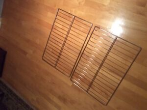 2 GE (General Electric) oven racks, brand new