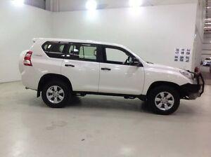 2014 Toyota Landcruiser Prado KDJ150R MY14 GX White 5 Speed Sports Automatic Wagon Edgewater Joondalup Area Preview