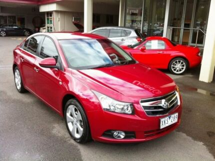 2010 Holden Cruze JG CDX Red 6 Speed Sports Automatic Sedan Berwick Casey Area Preview