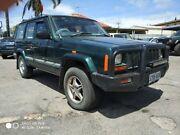 1999 Jeep Cherokee XJ Limited Green 4 Speed Automatic Wagon Enfield Port Adelaide Area Preview