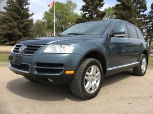 2005 Volkswagen Toureg, PREMIUM, AUTO, AWD, LEATHER, ROOF, 179K