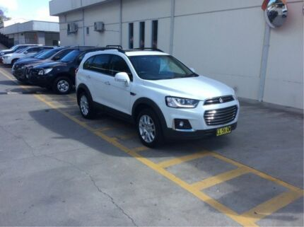 2016 Holden Captiva CG MY17 Active 2WD White 6 Speed Sports Automatic Wagon East Maitland Maitland Area Preview