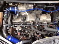 ford focus diesal turbo,ENGINE COMPLETE