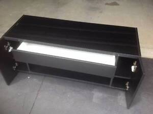 black entertainment cabinet Newport Pittwater Area Preview