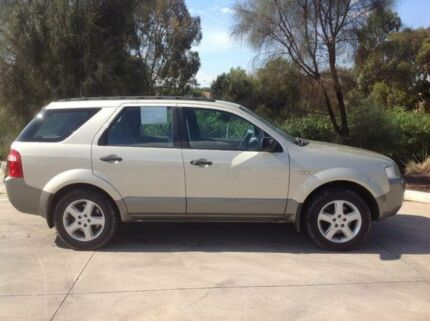 2008 Ford Territory SY MY07 Upgrade TS (RWD) Gold 4 Speed Auto Seq Sportshift Wagon Laverton Wyndham Area Preview