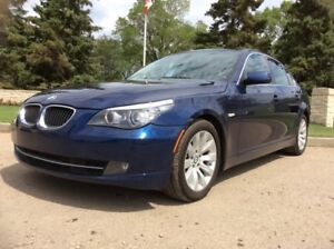 2008 BMW 528i, AUTO, FULLY LOADED, LEATHER, ROOF, 155KM