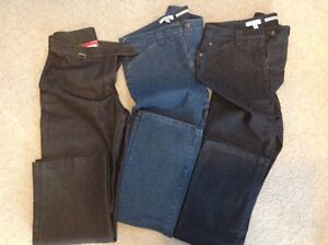 3 PAIRS of LADIES JEANS - 2 are new
