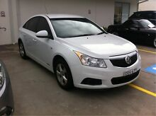 2011 Holden Cruze JH Series II MY12 CD White 6 Speed Sports Automatic Sedan Argenton Lake Macquarie Area Preview