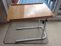 Overbed Chair Table