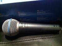 Shure Beta 58A Vocal Microphone Dynamic 2-Yrs Warranty