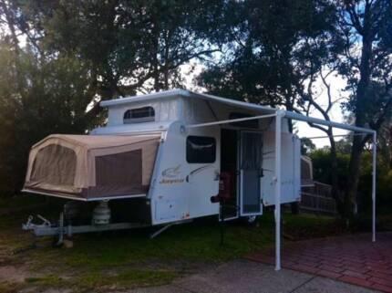 Caravan for Hire Poptop Jayco Expanda