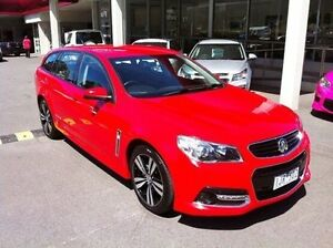 2015 Holden Commodore VF MY15 SV6 Sportwagon Storm Red 6 Speed Sports Automatic Wagon Berwick Casey Area Preview