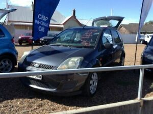 2008 Ford Fiesta WQ LX Grey 5 Speed Manual Hatchback Raymond Terrace Port Stephens Area Preview
