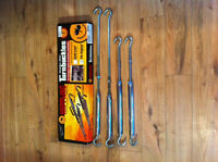 NEW HAPPIJAC STAINLESS SPRING LOADED CAMPER TURNBUCKLES