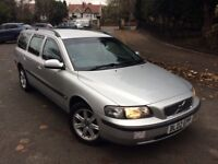 VOLVO V70 2.4 D5 S 5DR AUTOMATIC (silver) 2002