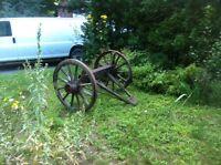 equipement agricole ancien en bois
